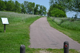 Blue Mounds Bike Trail, Luverne Minnesota