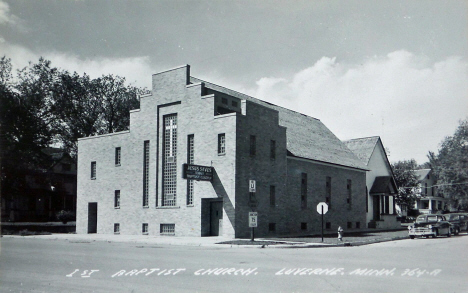 First Baptist Church, Luverne Minnesota, 1950's