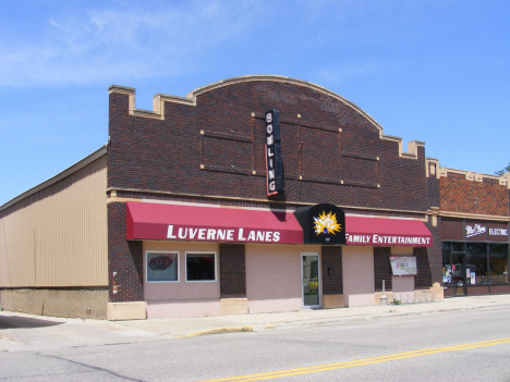 Bowling alley, Luverne Minnesota, 2014