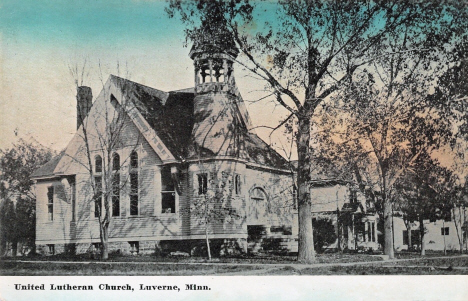 United Lutheran Church, Luverne Minnesota, 1909
