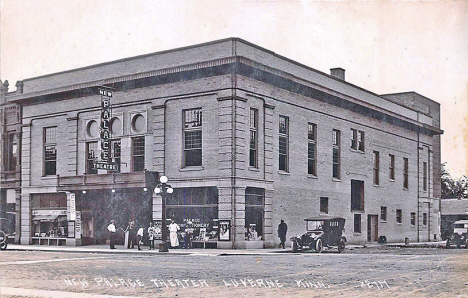 New Palace Theatre, Luverne Minnesota, 1920