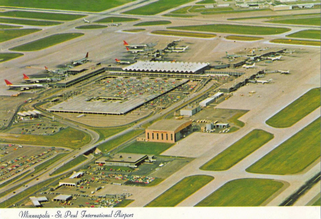 Minneapolis St. Paul International Airport, 1970's