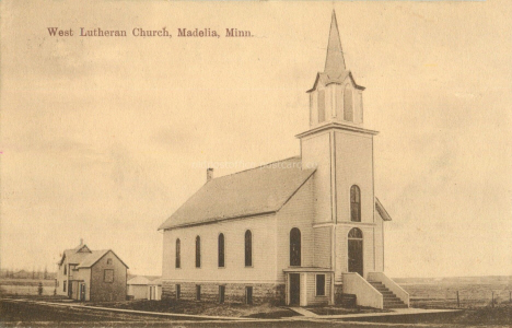West Lutheran Church, Madelia Minnesota, 1910