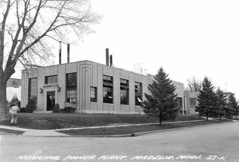 Municipal Power Plant, Madelia Minnesota, 1950's