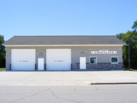 Ambulance service garage, Madison Minnesota, 2014