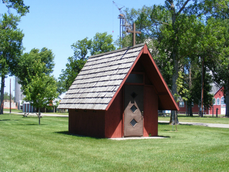Tiny chapel at J.F. Jacobson Park, Madison Minnesota, 2014