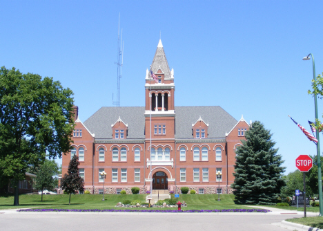 Lac qui Parle County Courthouse, Madison Minnesota, 2014