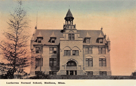 Lutheran Normal School, Madison Minnesota, 1908