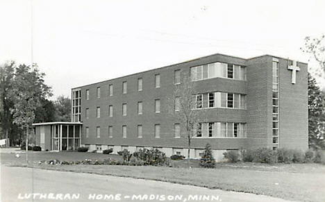Lutheran Home, Madison Minnesota, 1950's
