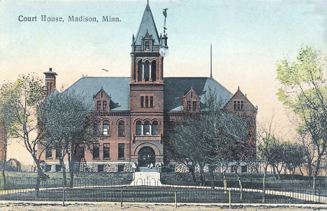 Lac qui Parle County Courthouse, Madison Minnesota, 1908