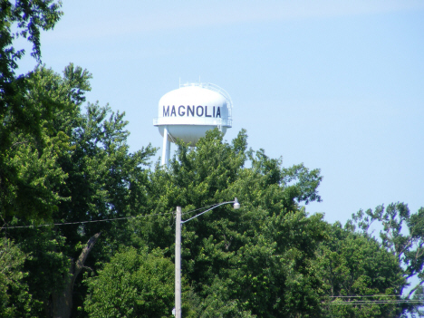 Water tower, Magnolia Minnesota, 2014