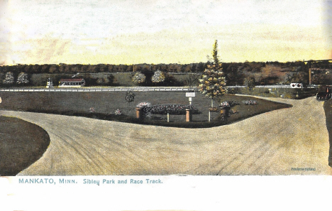 Sibley Park and Race Track, Mankato Minnesota, 1906