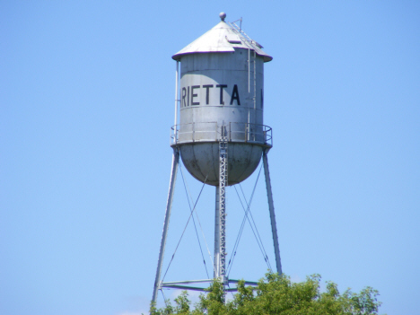 Water Tower, Marietta Minnesota, 2014