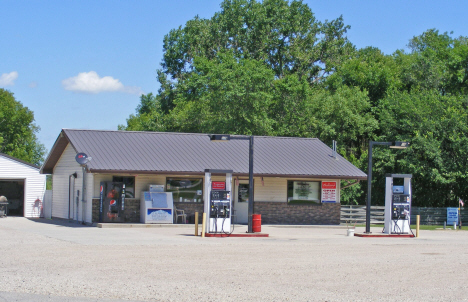 Gas station and convenience store, Marietta Minnesota, 2014