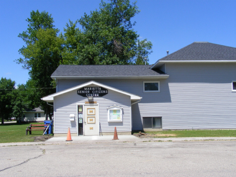 Senior Citizens Center, Marietta Minnesota, 2014