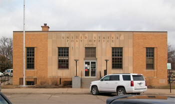 US Post Office, Marshall Minnesota