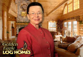 Mary Best - Golden Eagle Log Homes Dealer