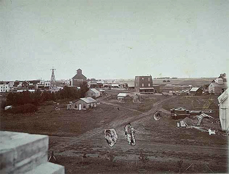 General view of Maynard Minnesota, 1899