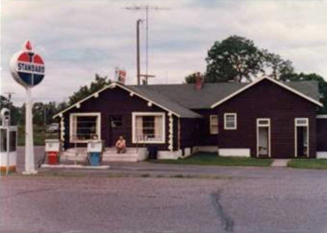 Standard station, McGrath Minnesota, 1960's?