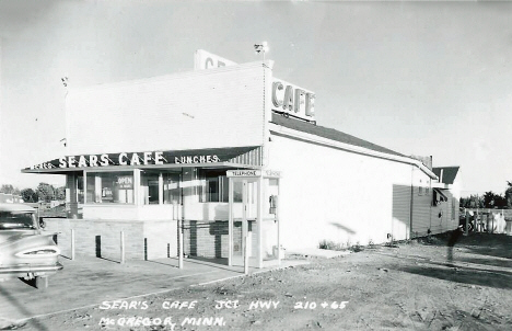 Sear's Cafe, McGregor Minnesota, 1960's