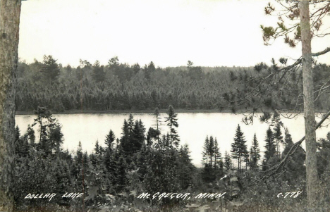 Dollar Lake near McGregor Minnesota, 1940's