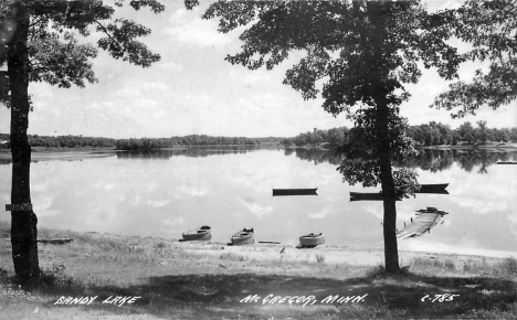 Big Sandy Lake near McGregor Minnesota, 1942