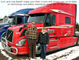 Raveill Trucking, Inc. McGregor Minnesota