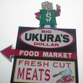 Ukura's Big Dollar Store, McGregor Minnesota
