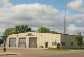 Milan City Offices and Fire Hall, Milan Minnesota