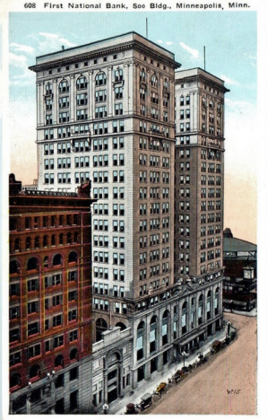 First National Bank and Soo Buildings, Minneapolis Minnesota, 1918
