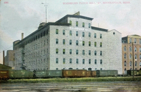 Washburn A Mill, Minneapolis Minnesota, 1910