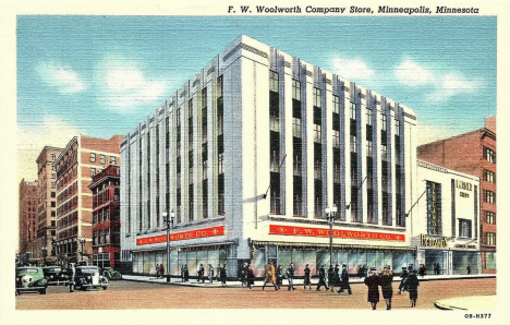 F. W. Woolworth Store, Minneapolis Minnesota, 1940