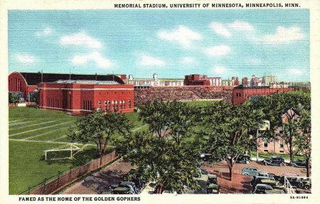 Memorial Stadium, University of Minnesota, Minneapolis Minnesota, 1935