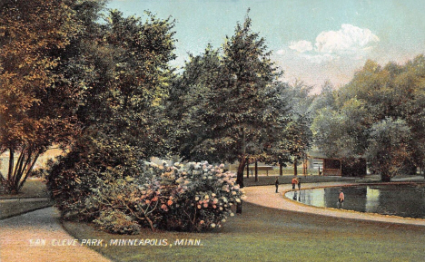 Van Cleve Park, Minneapolis Minnesota, 1907