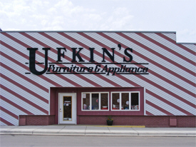 Ufkin's Furniture and Appliance, Minneota Minnesota