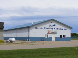 Frank's Electric and Plumbing, Minneota Minnesota
