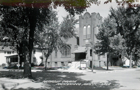 Methodist Church, Montevideo Minnesota, 1950's