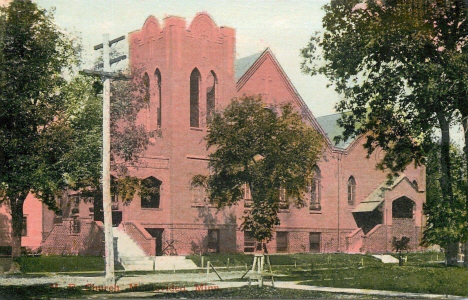 Methodist Episcopal Church, Montevideo Minnesota, 1910