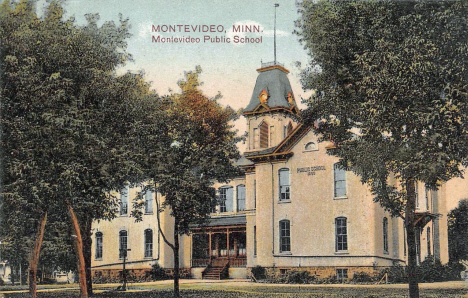 Public School, Montevideo Minnesota, 1909