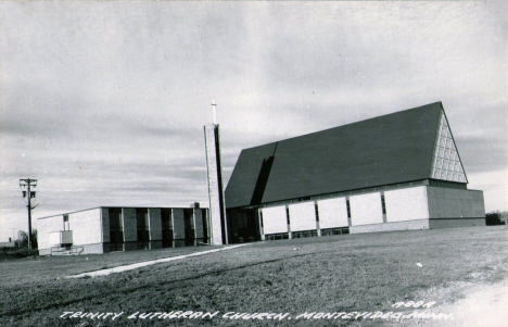 Trinity Lutheran Church, Montevideo Minnesota, 1950's