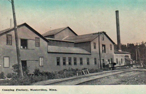 Canning Factory, Montevideo Minnesota, 1918