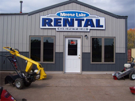 Moose Lake Rental Center, Moose Lake Minnesota