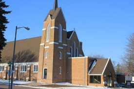 Trinity Lutheran Church, Mountain Lake Minnesota