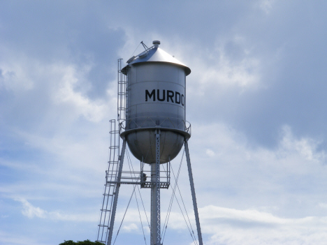 Water tower, Murdock Minnesota, 2014