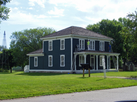 Samuel Murdock House, on the National Register of Historic Places, Murdock Minnesota, 2014
