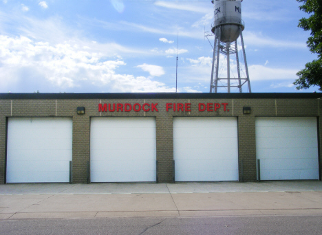 Fire Department, Murdock Minnesota, 2014