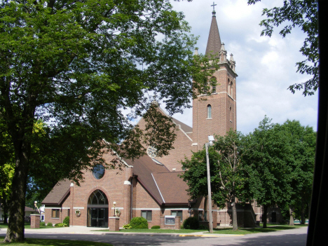 Sacred Heart Catholic Church, Murdock Minnesota, 2014