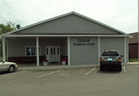 Cease Funeral Home, Nevis Minnesota