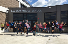 New Ulm Middle School, New Ulm Minnesota