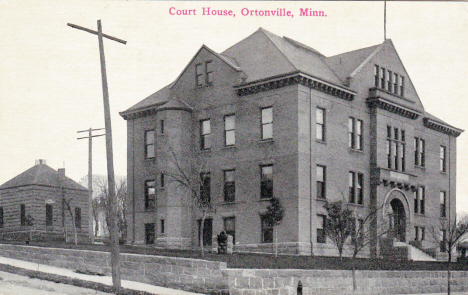 Big Stone County Courthouse, Ortonville Minnesota, 1909